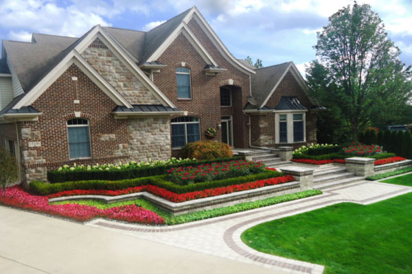 Northville Landscape Design example