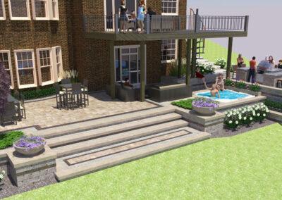 landscape design steps
