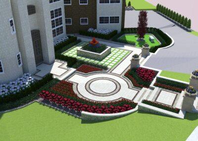 backyard landscape 3d design
